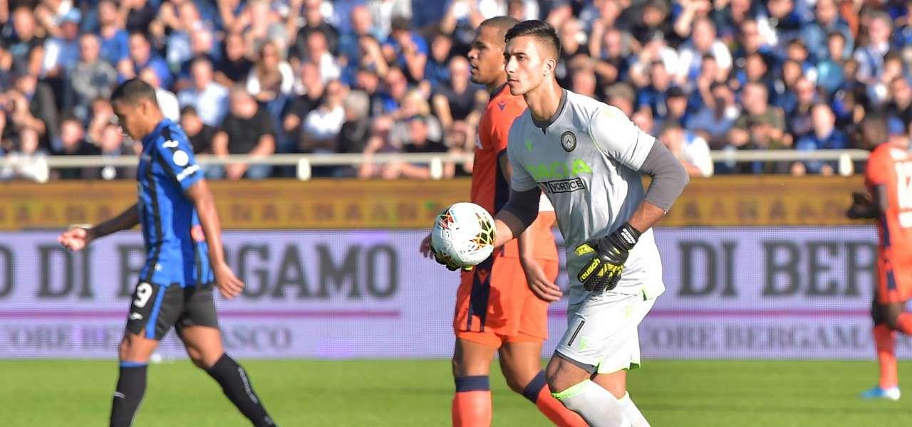 Musso Muriel Atalanta Udinese lapresse 2020