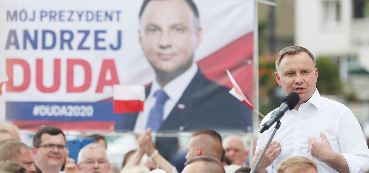 Elezioni Polonia, il presidente Duda