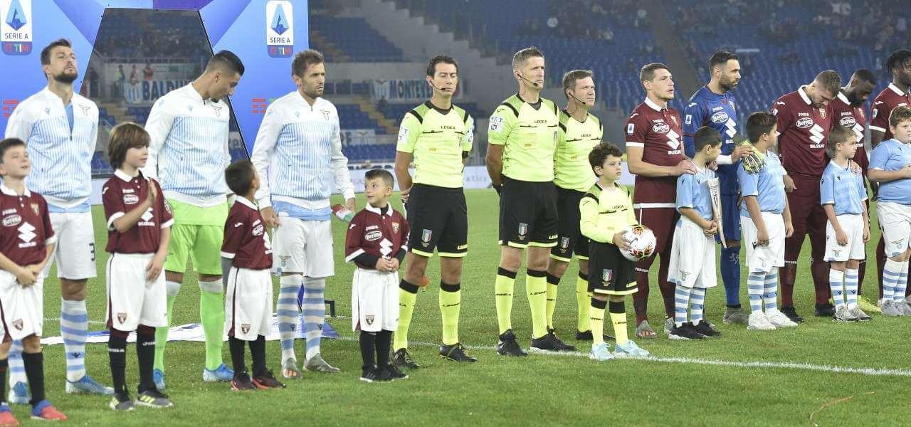 Lazio Torino schierate lapresse 2020