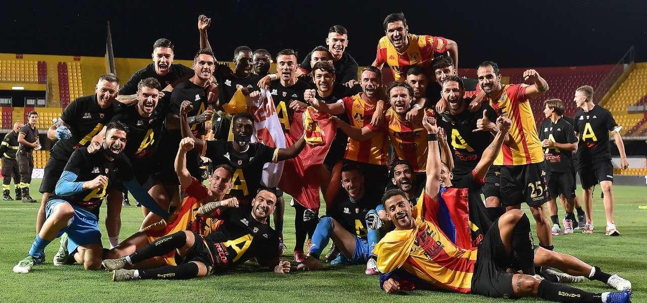Benevento promozione festa lapresse 2020