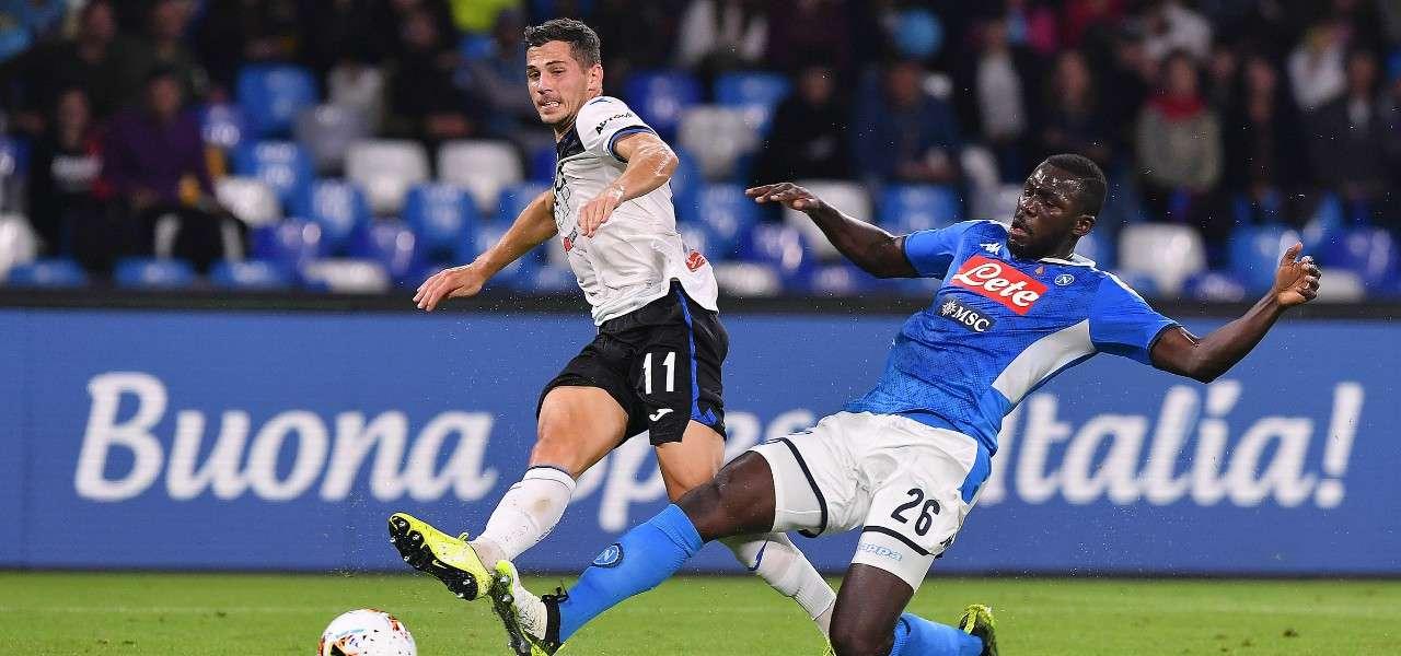 Freuler Koulibaly gol Atalanta Napoli lapresse 2020