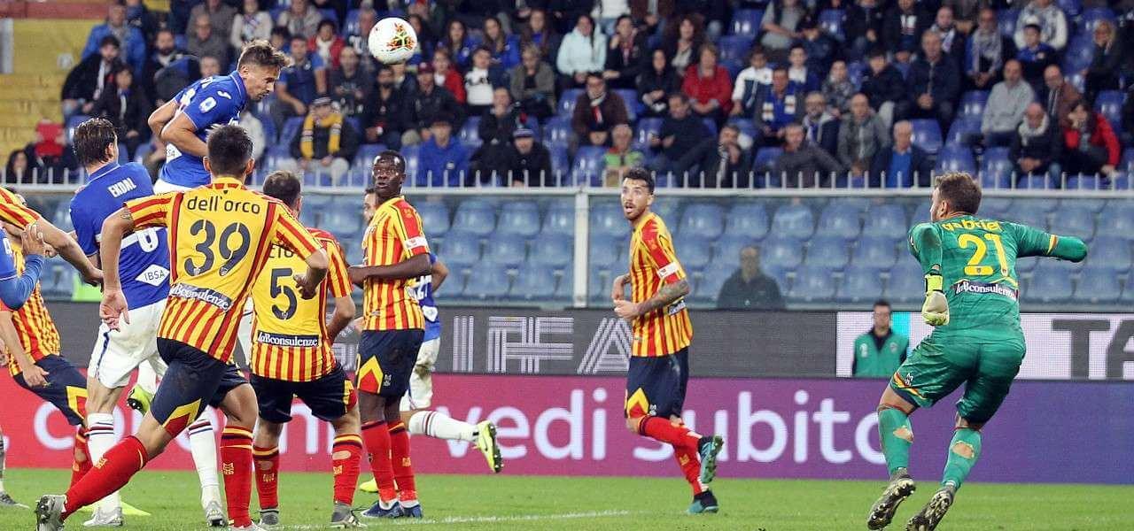 Gaston Ramirez testa Sampdoria Lecce lapresse 2020