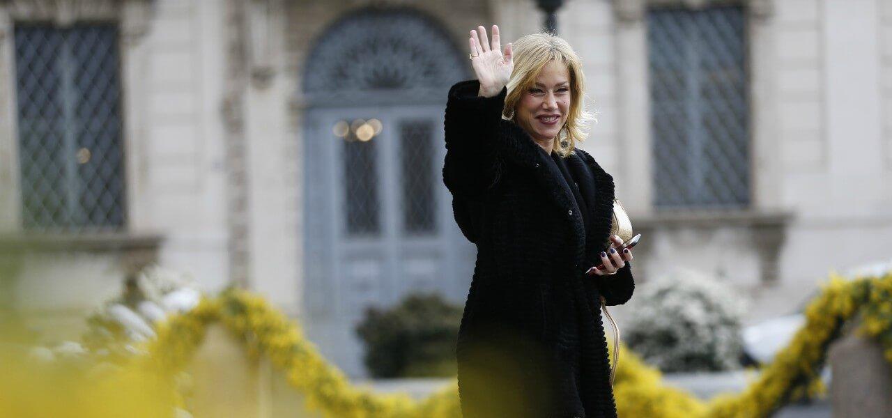 Nancy Brilli saluto lapresse 2020