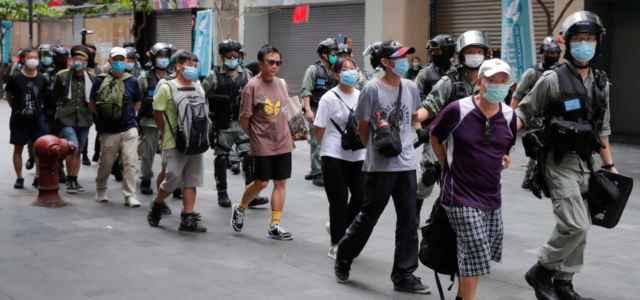 Arresti Hong Kong