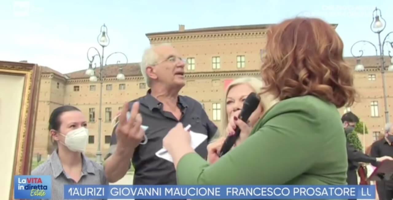 Giuseppe Caleffi vita in diretta