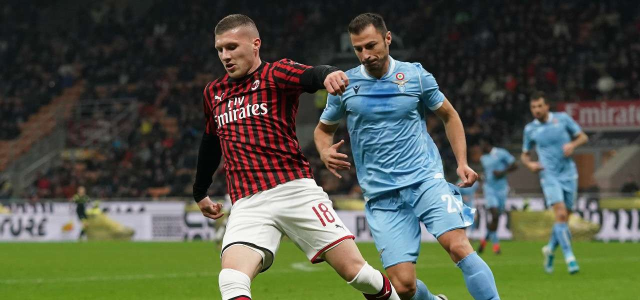 Rebic Radu Milan Lazio lapresse 2020