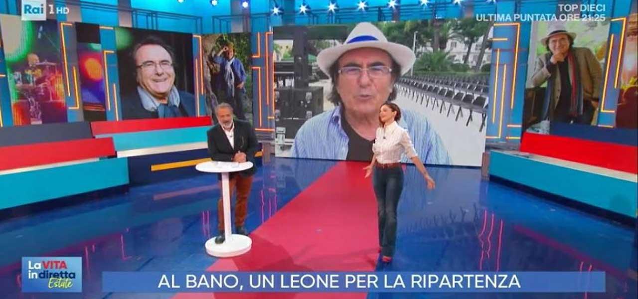 """Al Bano a """"La Vita in Diretta"""""""
