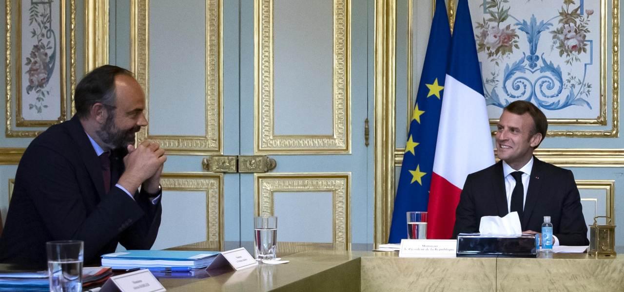 Philippe e Macron