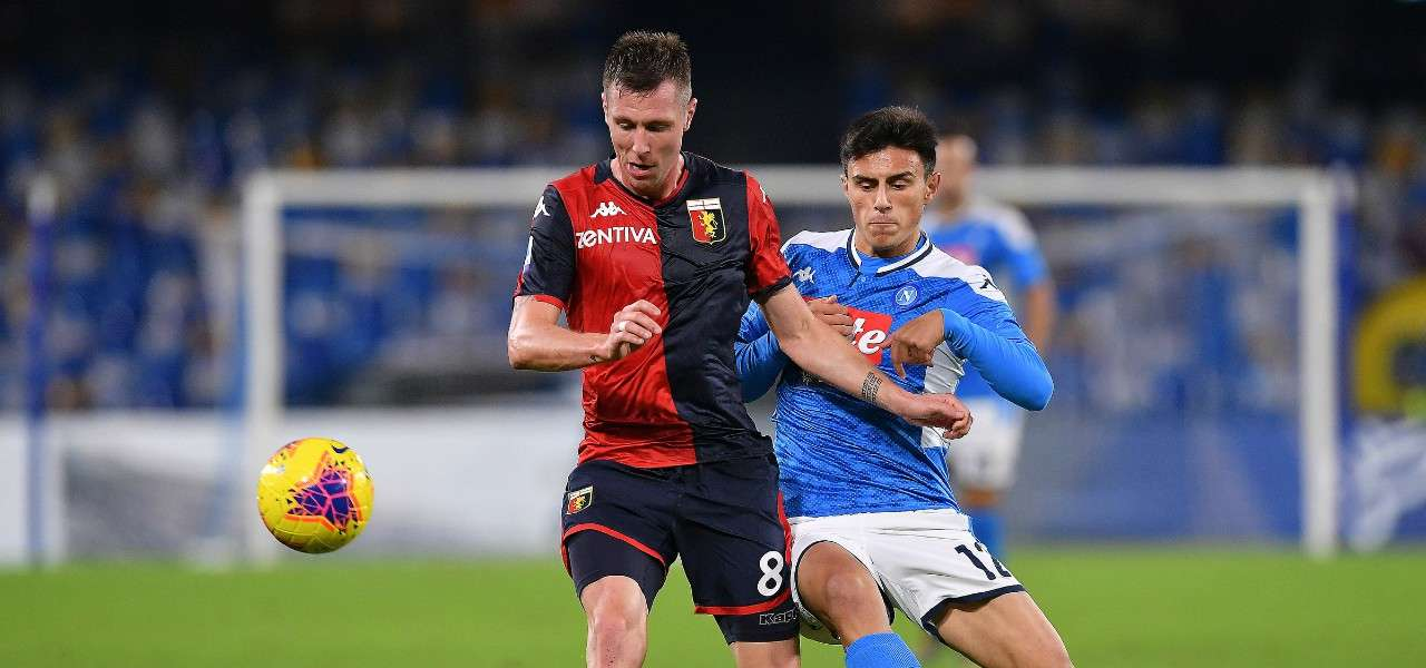 Elmas Lerager Napoli Genoa lapresse 2020