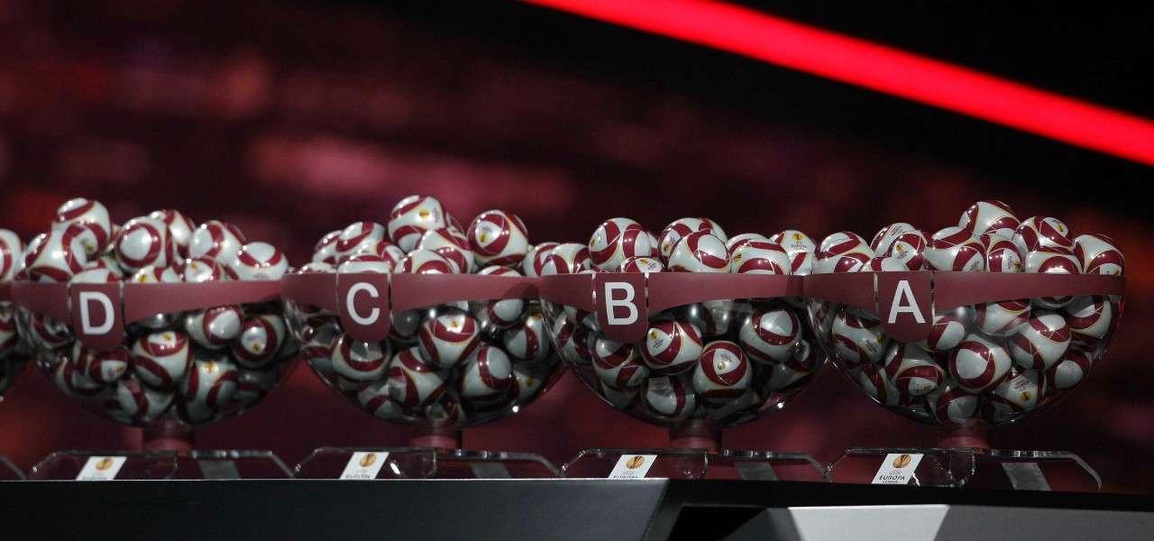 Europa League urna palline lapresse 2020
