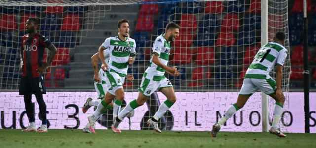Berardi gol Bologna Sassuolo lapresse 2020 640x300
