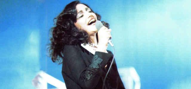 Mia Martini sul palco