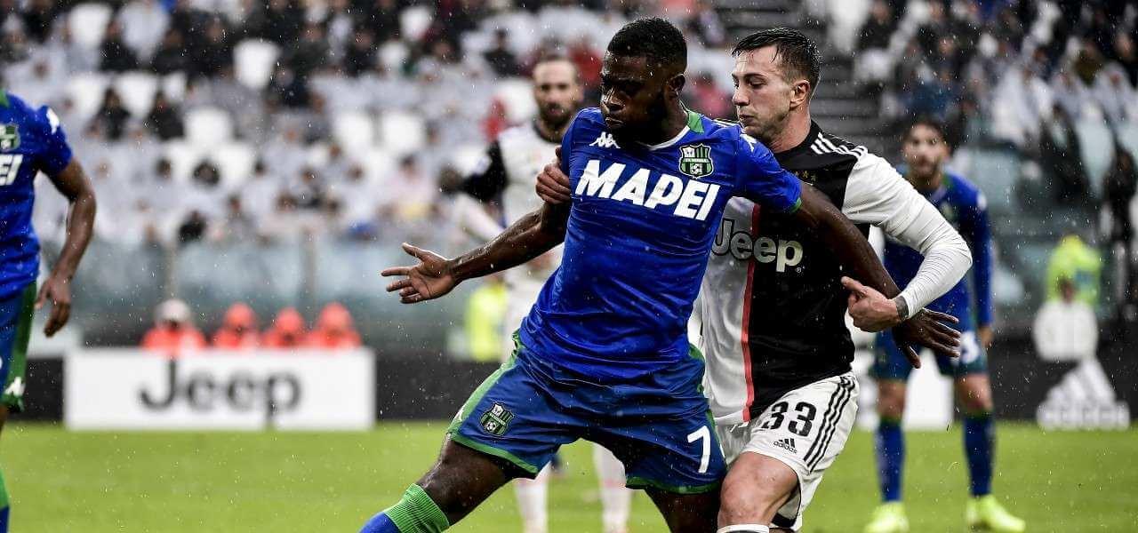 Bernardeschi Boga Juventus Sassuolo lapresse 2020