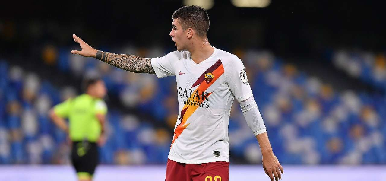 Gianluca Mancini Roma lapresse 2020