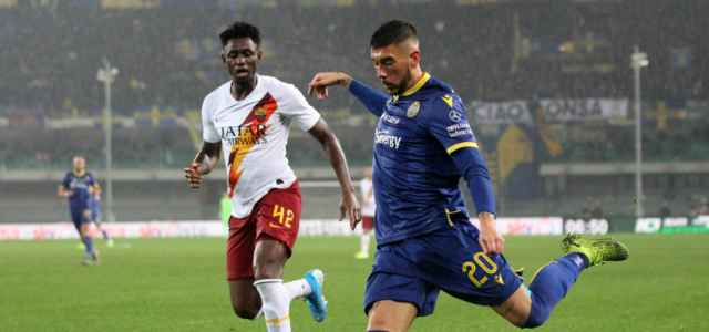 Zaccagni Diawara Verona Roma lapresse 2020 640x300