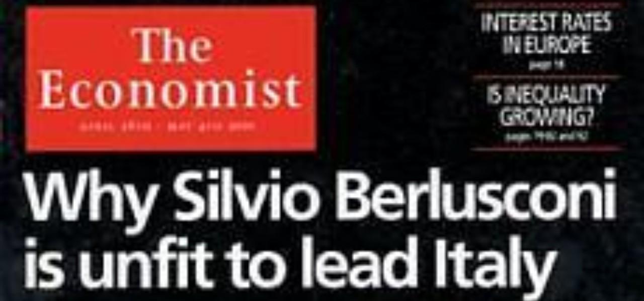 Economist vs Berlusconi