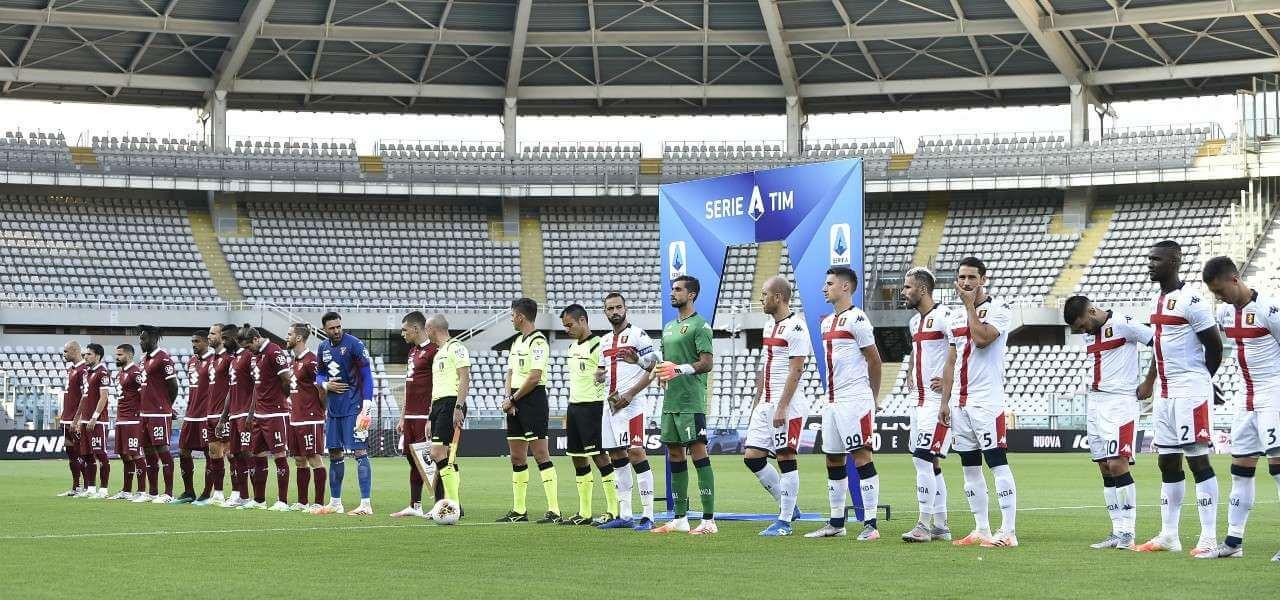 Torino Genoa schierate lapresse 2020