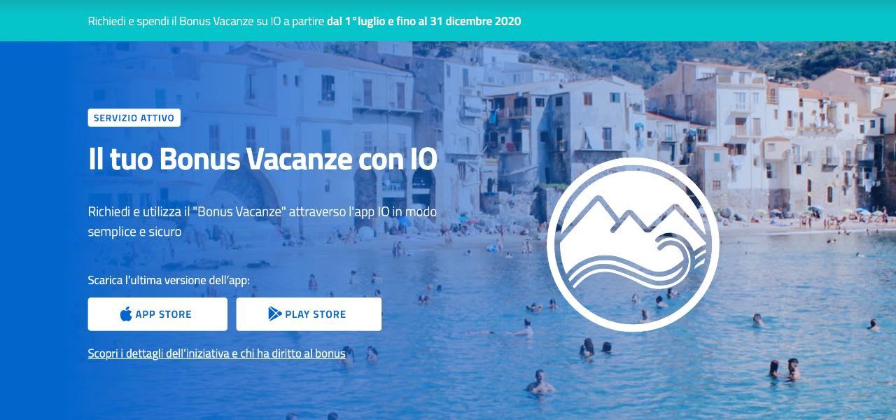 bonus vacanze appIo