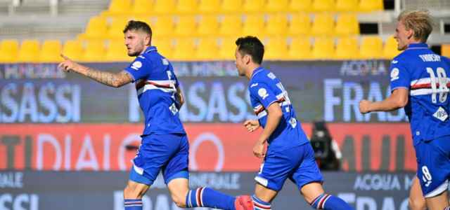 Julian Chabot Sampdoria gol lapresse 2020 640x300