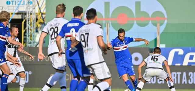 Quagliarella Parma Sampdoria