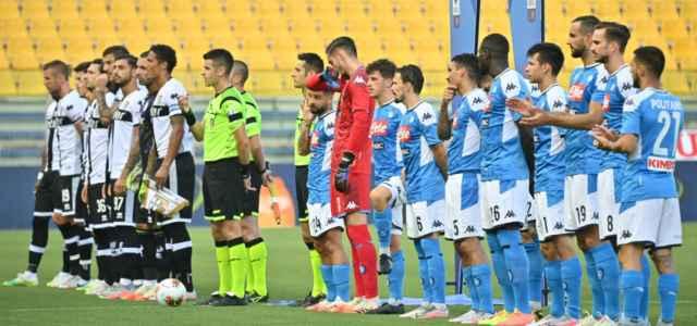 Parma Napoli schierate inizio lapresse 2020 640x300