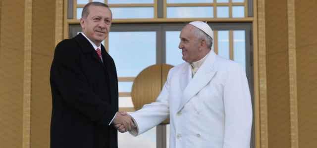 Papa Francesco e Erdogan