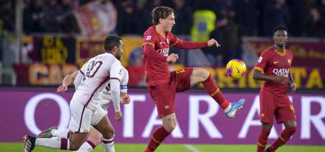 Zaniolo Djidji Roma Torino lapresse 2020 640x300
