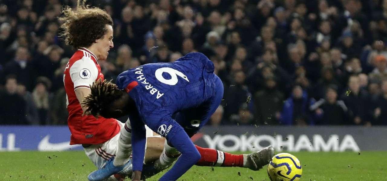 David Luiz Abraham Arsenal Chelsea lapresse 2020