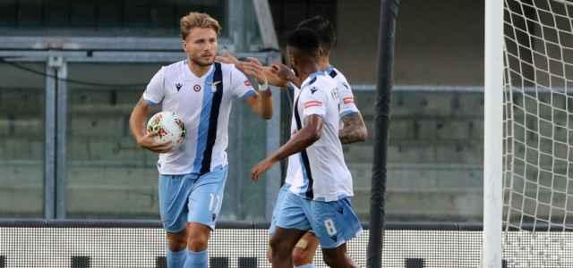 Ciro Immobile gol Lazio Verona lapresse 2020 640x300