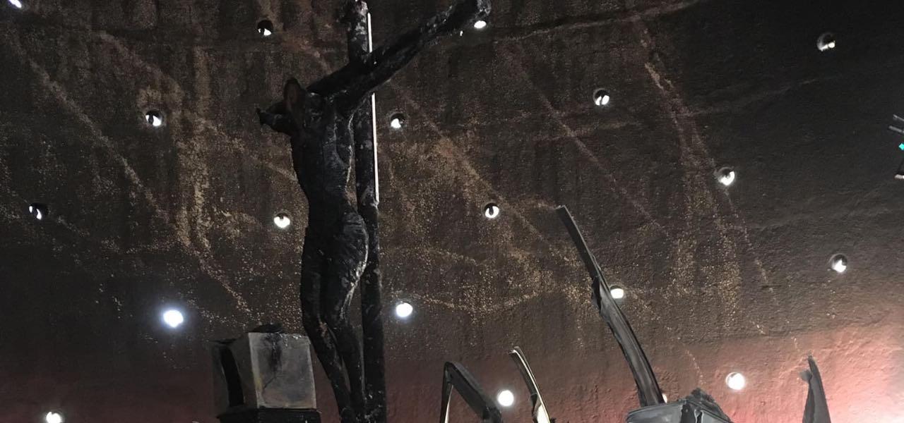 crocifisso cattedrale managua fb