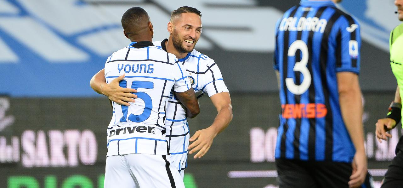 dambrosio young inter atalanta lapresse 2020