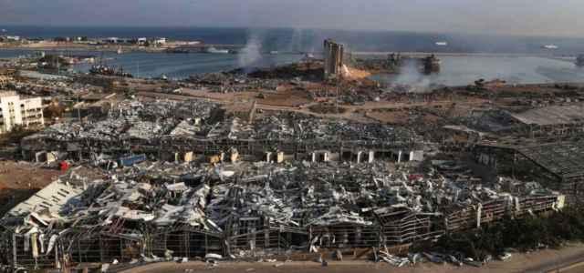 Beirut distrutta