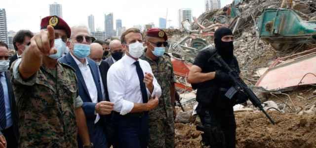 Macron a Beirut