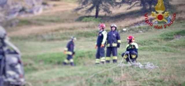 Incidente a Castelmagno, Cuneo