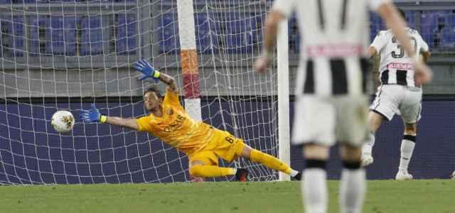Antonio Mirante parata Roma Udinese lapresse 2020 640x300