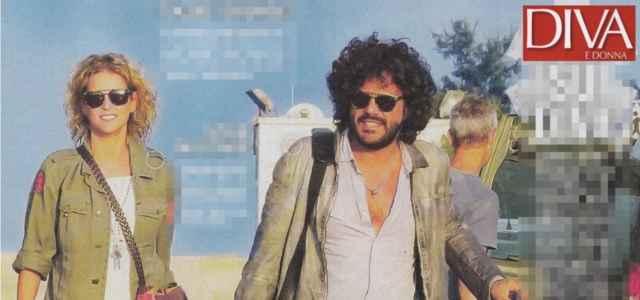 Francesco Renga in compagnia della fidanzata Diana Poloni (Diva e Donna)