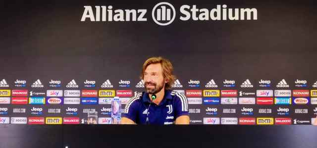 Andrea Pirlo Juventus presentazione lapresse 2020 640x300