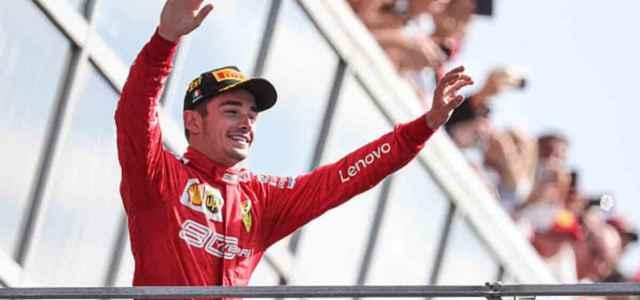 Leclerc Monza Formula 1