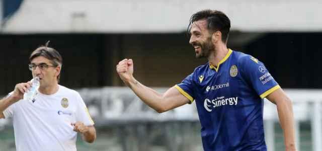 Di Carmine Juric Verona gol lapresse 2020 640x300