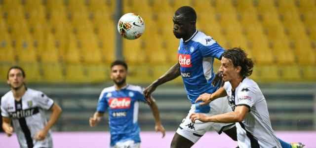 Koulibaly Inglese Parma Napoli lapresse 2020 640x300