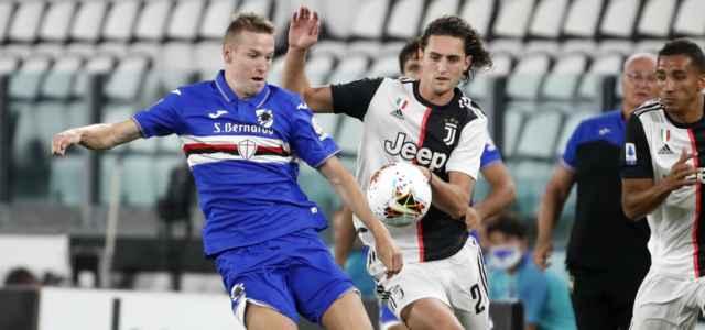 Rabiot Jankto Juventus Sampdoria lapresse 2020 640x300
