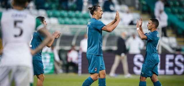 Ibrahimovic Bennacer Milan
