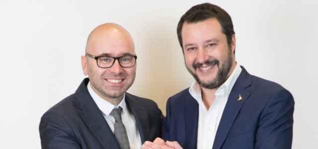 Salvini e Centemero