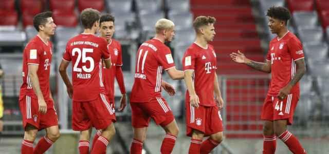 Bayern gruppo gol Schalke lapresse 2020 640x300