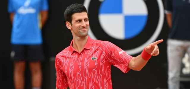 Novak Djokovic Roma sorriso lapresse 2020 640x300