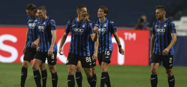 Atalanta gruppo gol Champions League lapresse 2020 640x300