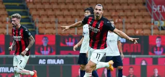 Zlatan Ibrahimovic gol Milan Bologna lapresse 2020 640x300