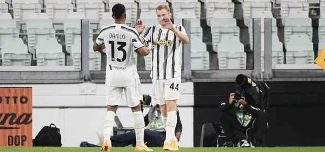 Danilo Kulusevski Juventus esultanza lapresse 2020 640x300