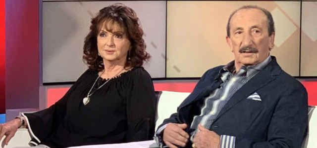 Franco Gatti in compagnia della moglie Stefania