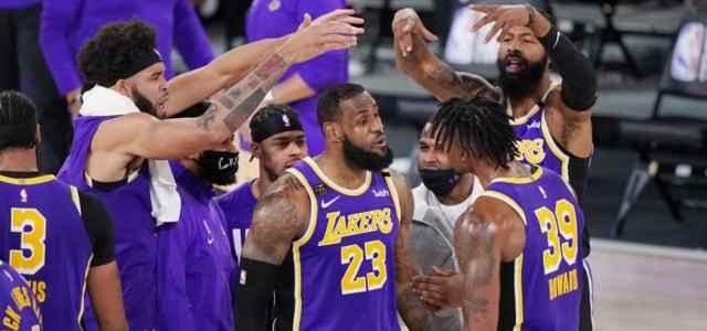 LeBron James Howard Lakers gruppo lapresse 2020 640x300